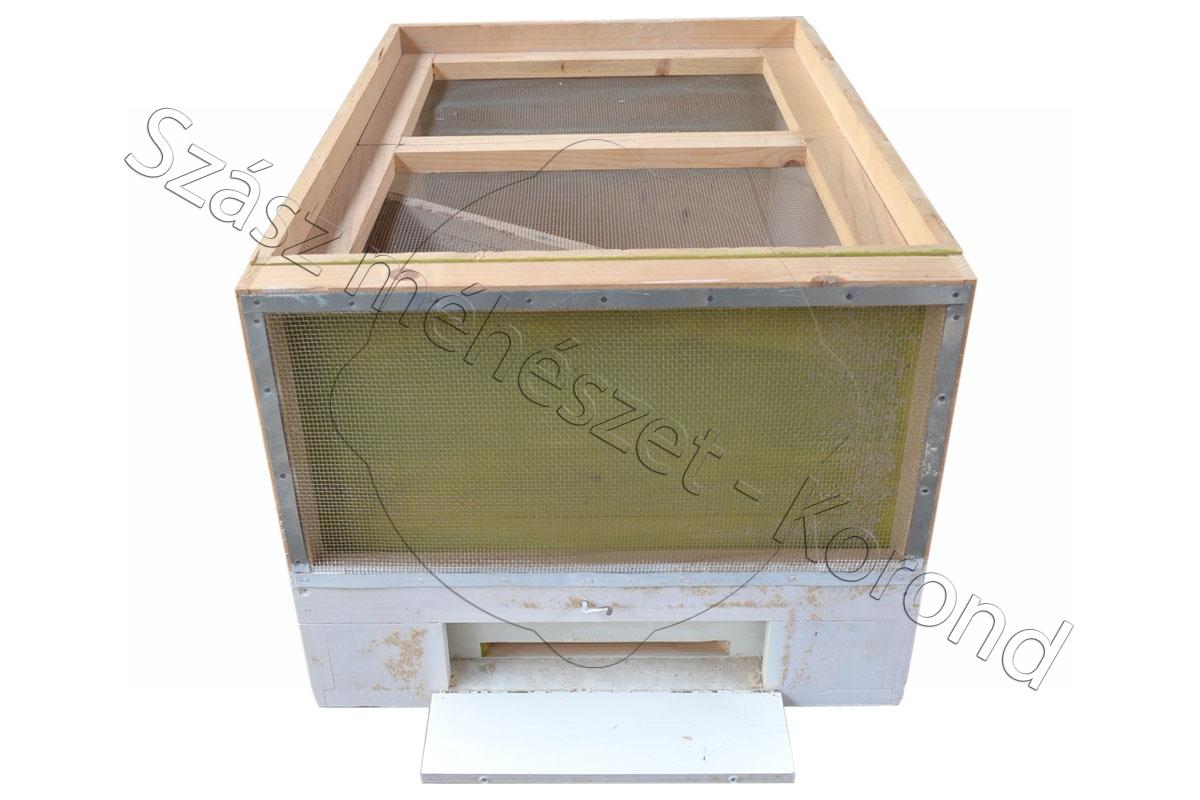 Fekvő kaptár 19 kerketes méhészautóba
